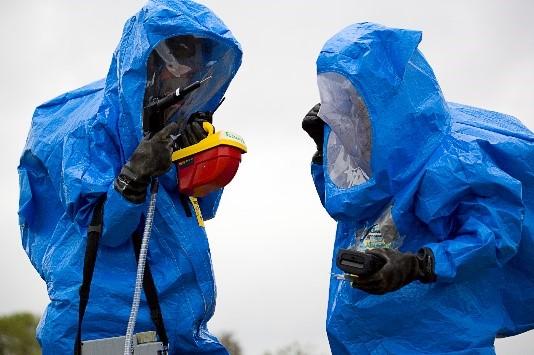 Osan Emergency Responders receive Integrated CBRN training