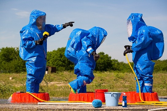 ASG Trains and Evaluates Travis AFB CBRN Responders