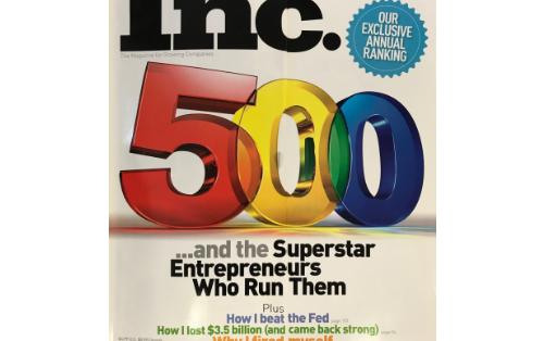 2010 – Inc. 5000 Award