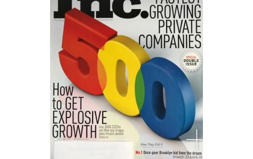 2012 – Inc. 5000 Award