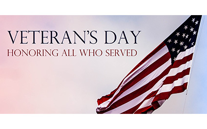 Serving Those who Serve— Thank You to Our Veterans